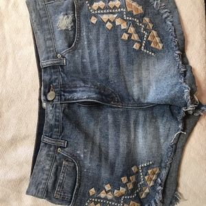 Free People Cut off Shorts Size 29 Relaxed cut off